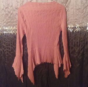 Dress-U by Sharon Tops - $24 Top w Sharp Pointy Hem n Sleeves